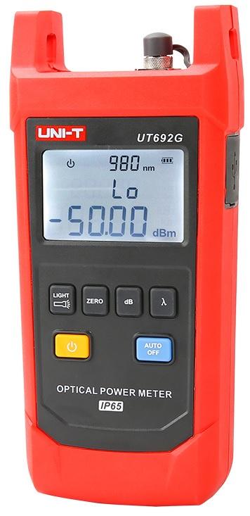 Medidor de Potência de Fibra Óptica (IP65) - UNI-T