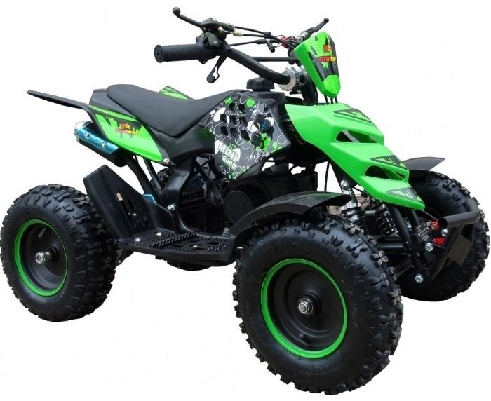 Moto 4 50CC 2T MINIQUAD KF (Verde) - MALCOR