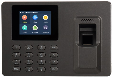 Leitor Biométrico Controlo de Acessos/Presenças (USB/Excel)