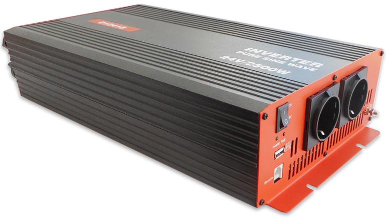 Conversor ONDA PURA 24V -> 220V 2500W