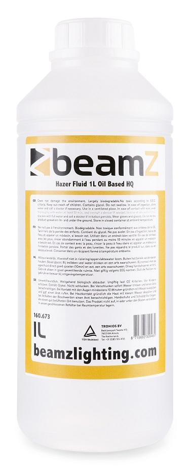 Líquido de Neblina Alta Duração Incolor p/ Máquina de Fumo, Neblina (1 Litro) - beamZ