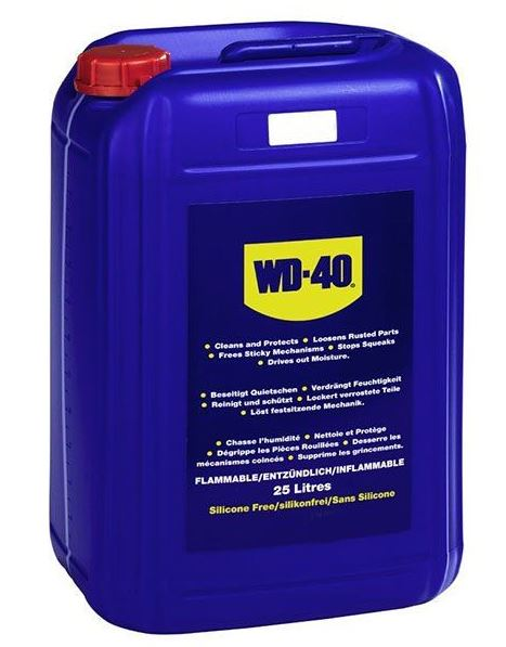 Bidão Lubrificante (25L) - WD-40