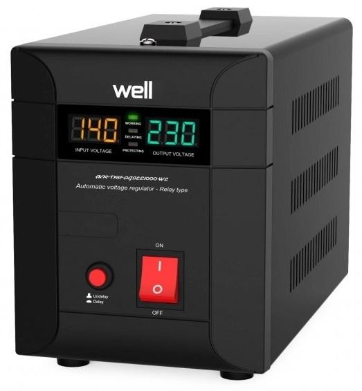 Estabilizador Automático Tensão 3000VA/2100W - WELL