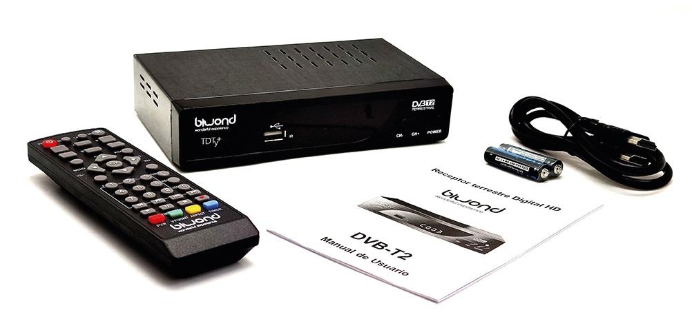 Receptor / Gravador TDT DVB-T2 HD - BIWOND