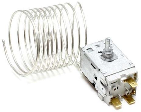 Termostato VT9 p/ Frigorifico de 2 Portas 3 Contactos Capilar 2000m