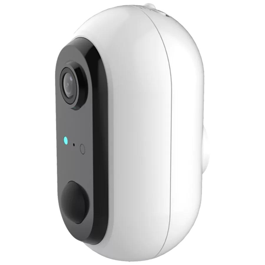 Câmara de Vigilância IP 2MP Full HD 1080p s/ Fios Wi-Fi c/ Bateria (IP64) - DENVER