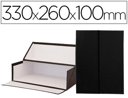 Caixas de Arquivo Frances Preto Medidas 330x260x100 mm