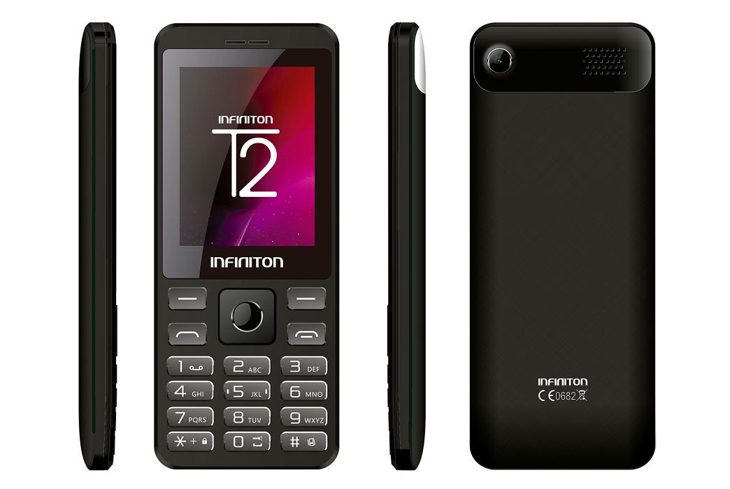 Telemóvel T2 2.4 32Mb Bluetooth Dual Sim (Preto) - INFINITON
