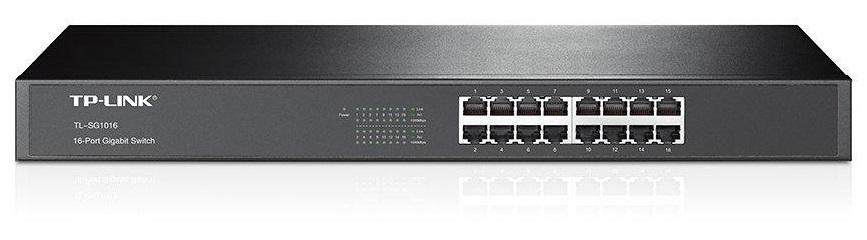 Switch 16 Portas 10/100/1000Mbps Rack - TP-LINK