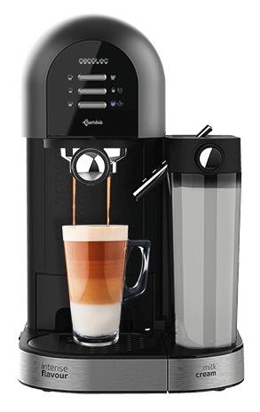 Máquina de Café á Pressão Power InstantCCINO 20 1470W 1.7L (Preto) - CECOTEC