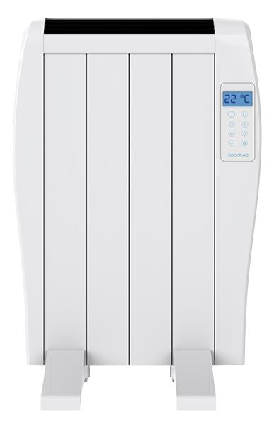 Emissor Térmico Ready Warm 800 Thermal 600W 4 Elementos (Branco) - CECOTEC