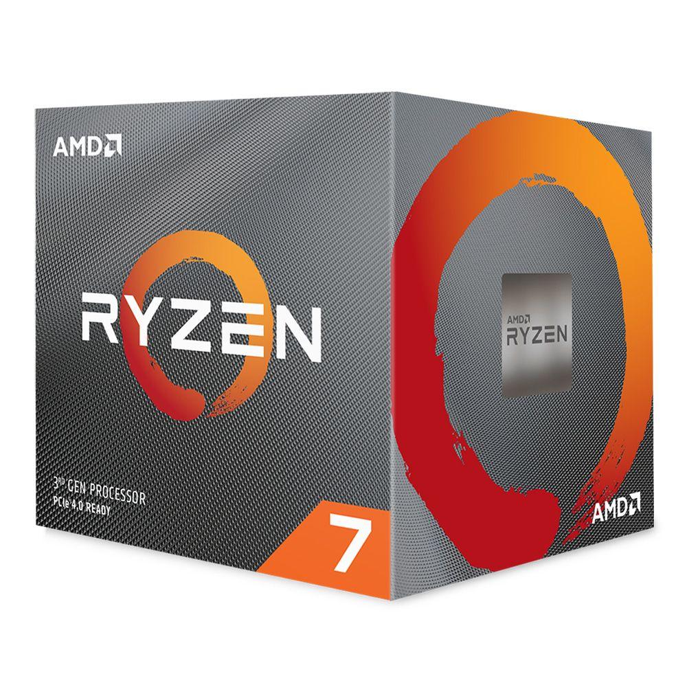 Processador Ryzen 7 3800X Octa-Core 3.9GHz c/ Turbo 4.5GHz SktAM4 - AMD