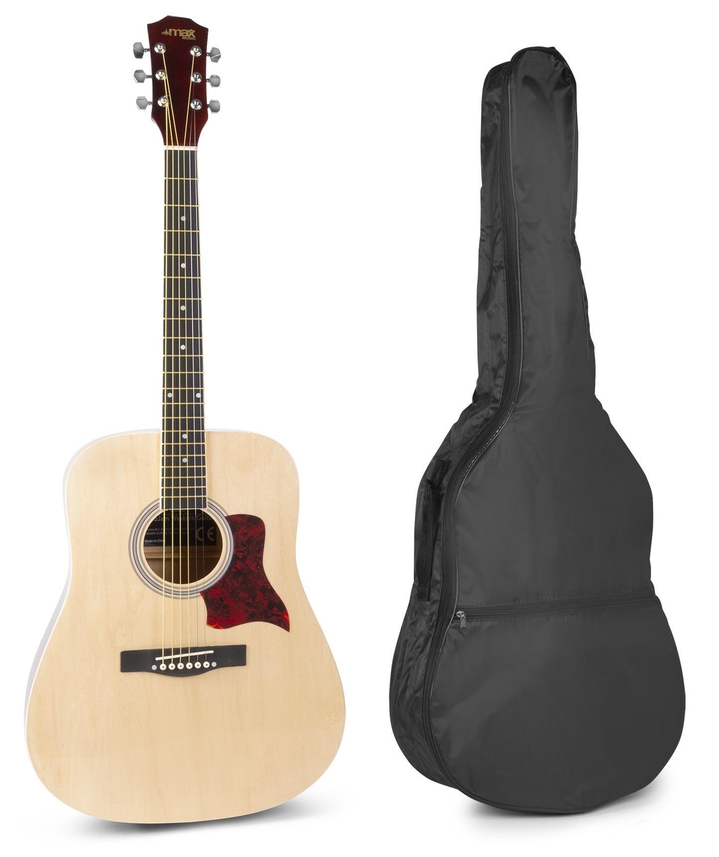 Pack Solojam Guitarra Acústica + Acessórios (Madeira) - MAX