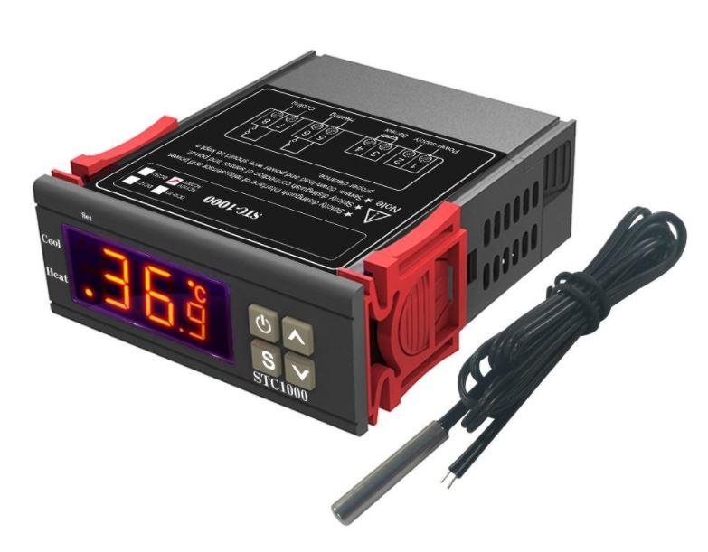 Termostato Digital Controlador de Temperatura 100-240VAC