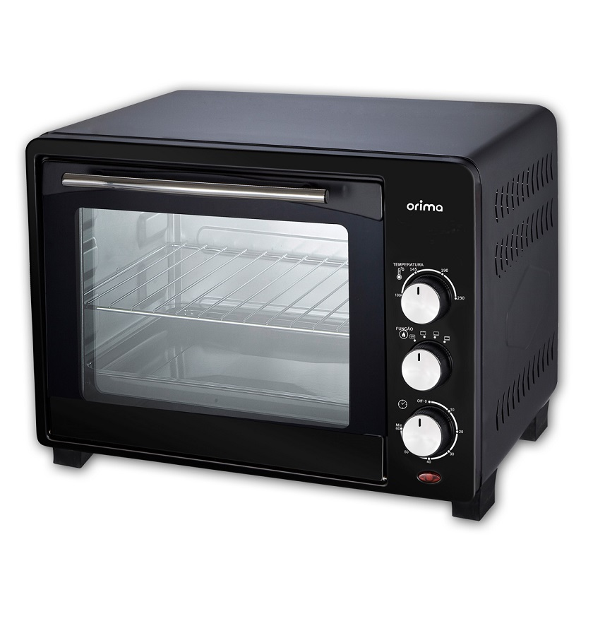 Mini Forno 1600W 40L (Preto) - ORIMA OR-40-L