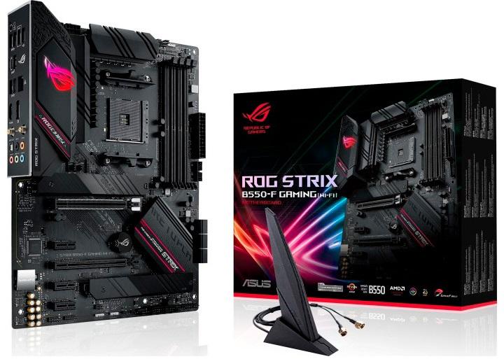 Motherboard ATX ROG Strix B550-F Gaming (Wi-Fi) SktAM4 - ASUS
