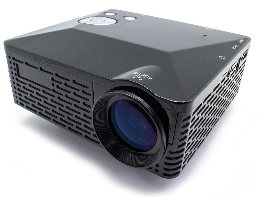 Video Projector LED 100 LUX Multimédia HDMI 1080PX