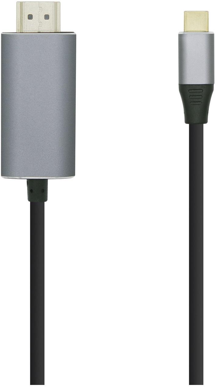 Cabo Conversor USB C Macho - HDMI Macho (1,8 mts) - AISENS