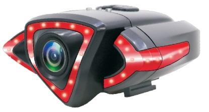 Câmara Acção Wi-Fi Full HD 1080p + Luz Presença p/ Traseira Bicicleta (RIDECAM HD) - ISNATCH