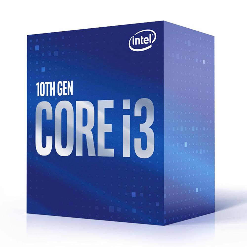 Processador Core i3-10100F 4-Core 3.6GHz c/ Turbo 4.3GHz Skt1200 - INTEL