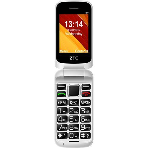 Telemóvel C232 Dual SIM (Branco) - ZTC