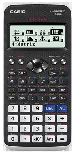 Calculadora Científica FX-570SPXII Iberia (Preto/Branco) - CASIO