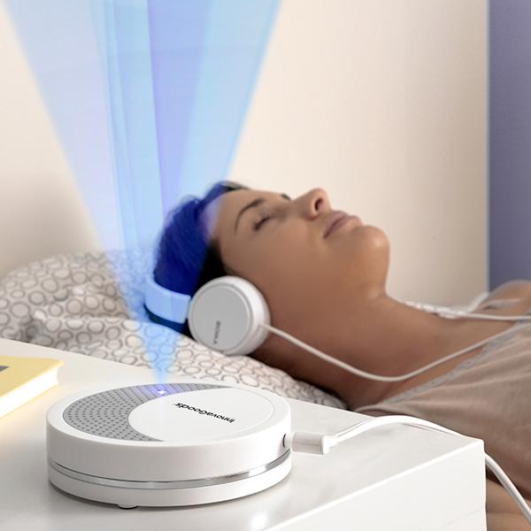 Dispositivo de Relaxamento c/ Luz e Som p/ Dormir Calmind - INNOVAGOODS