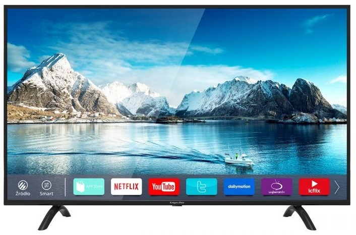 Smart TV D-LED 50 Ultra HD 4K DVB-T2/T/S/S2/C H.265 HEVC - Kruger&Matz