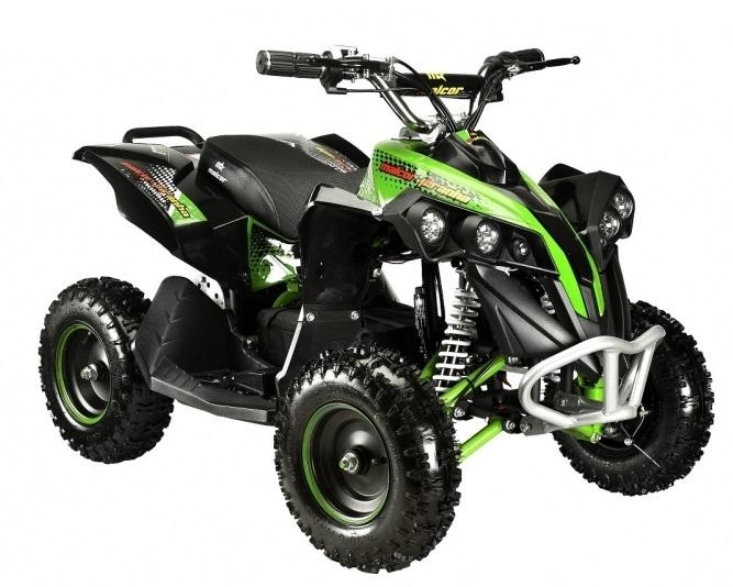 Moto 4 Elétrica Piranha MINIQUAD 1000W (Verde) - MALCOR