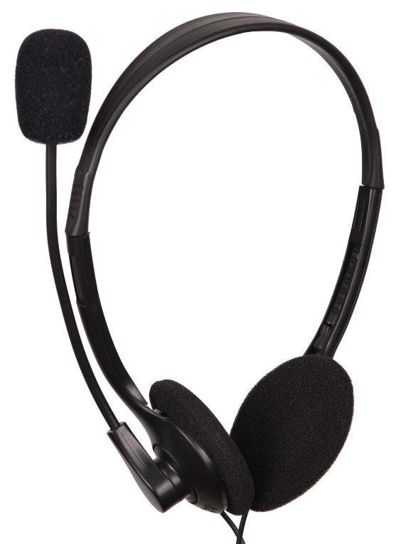 Auscultadores Headset c/ Microfone - GEMBIRD