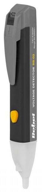 Detector de Tensão s/ Contacto c/ Lanterna LED - REBEL RB-02