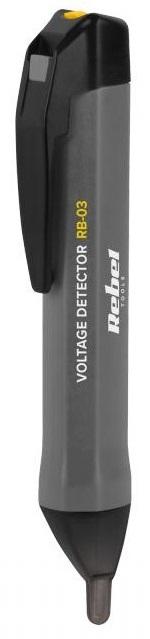 Detector de Tensão s/ Contacto c/ Lanterna LED - REBEL RB-03