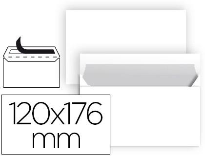 Envelope N 9 Branco Comercial Normalizado 120X176 mm Tira de Silicone (25 Unidades)