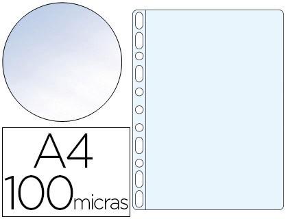 Bolsa Catalogo Q-Connect Din A4 100 Microns Cristal (Bolsa de 100 Unidades)