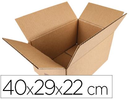 Caixa Q-Connect p/ Embalar Americana Medidas 400X290X220 mm Espessura Cartão 5 mm