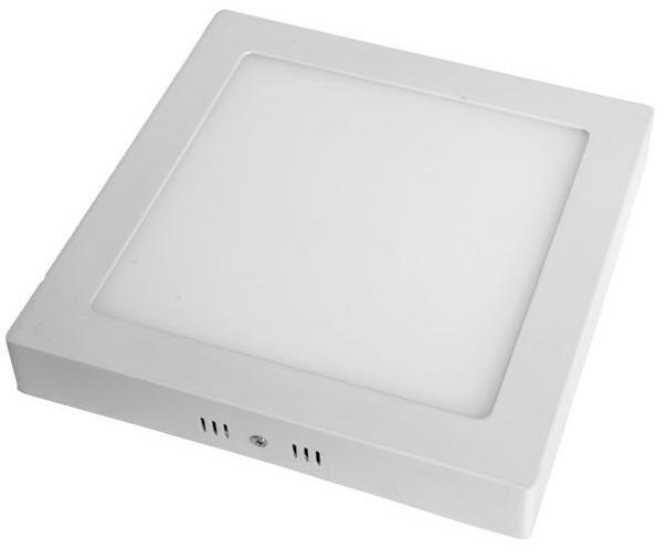 Painel de LED Superficie Quadrado (17 x 17cm) 12W 3000K 1020Lm