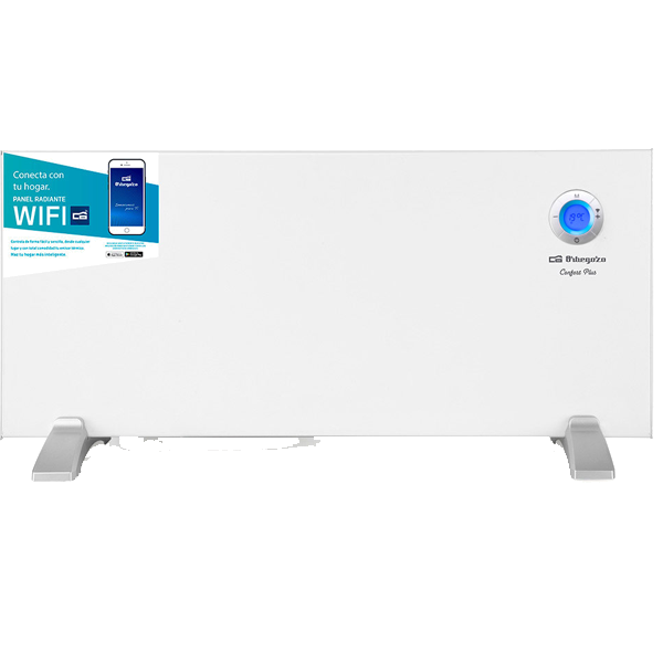 Aquecedor (Painel Radiante) c/ Wi-Fi 2000W Branco - ORBEGOZO