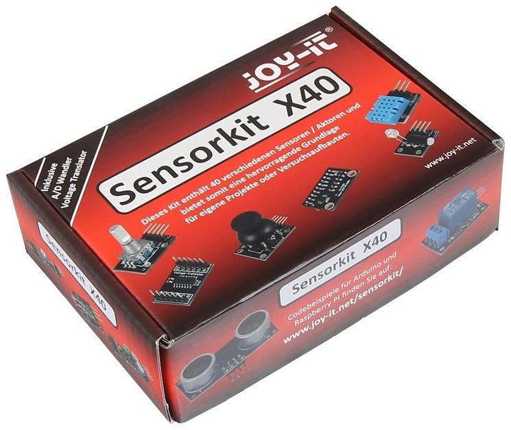Kit 40 Sensores Compatível c/ Arduino e Raspberry