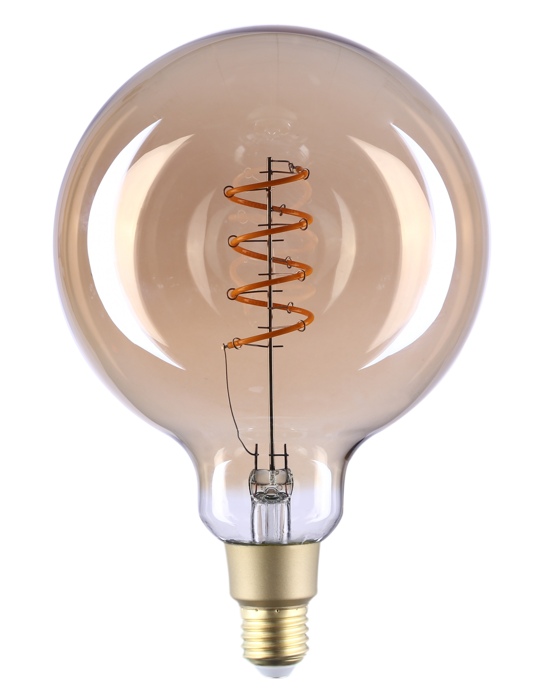 Lâmpada LED E27 G125 Filamento Smart Wi-Fi 4W Branco Q. 2700K 260Lm - Shelly Vintage G125