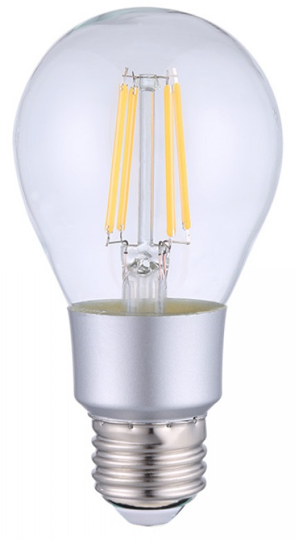 Lâmpada LED E27 A60 Filamento Smart Wi-Fi 7W Branco Q. 2700K 750Lm - Shelly Vintage A60