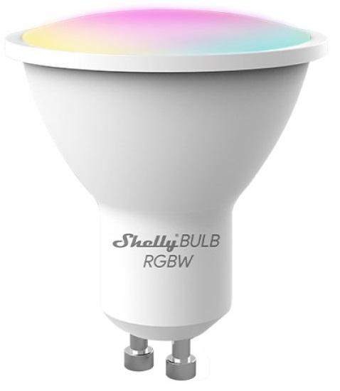 Lâmpada LED GU10 Smart Wi-Fi 5W RGB+W 400Lm - Shelly BULB RGBW