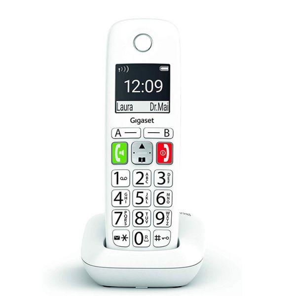 Telefone Ánalógico s/ Fios (Rede Fixa) SI-E290 (Branco) - GIGASET
