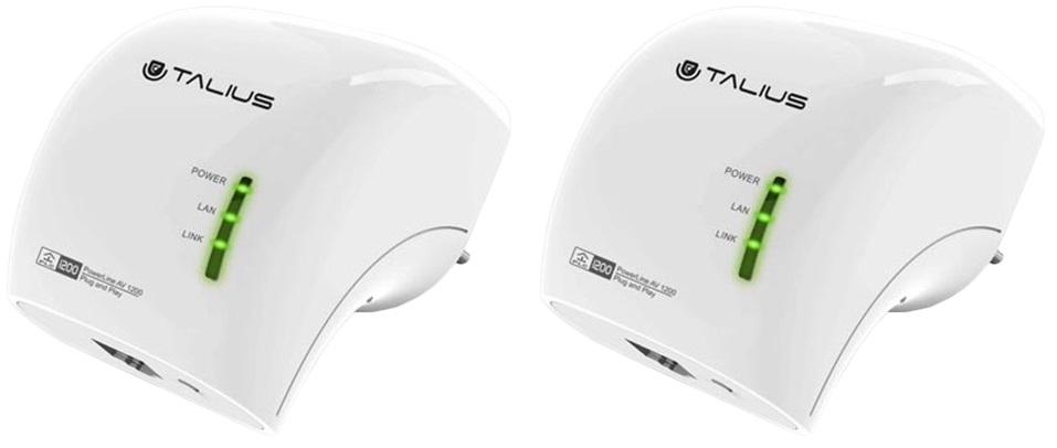 Power Lines Gigabit AV 1200Mbps - TALIUS