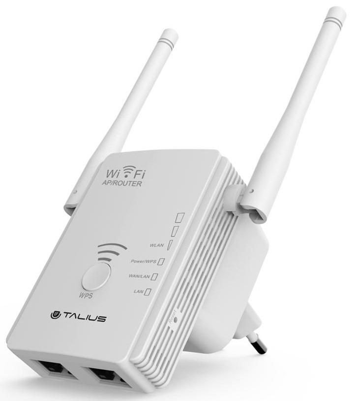Access Point AP Repetidor 2 Antenas 300Mbps - TALIUS