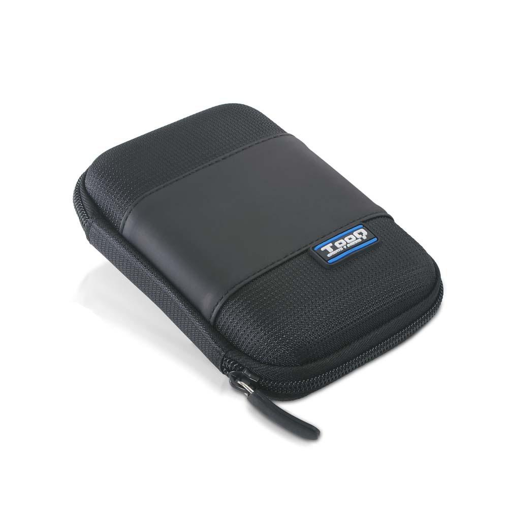 Bolsa p/ Disco HDD/SSD 2.5 (Preto) - TooQ