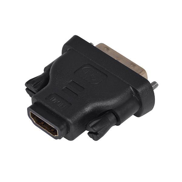 Adaptador DVI-D (Macho) - HDMI (Fêmea) - 1LIFE