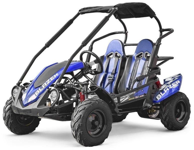 Buggy BLAZER 200CC Crianças (Azul) - XTRM FACTORY 81