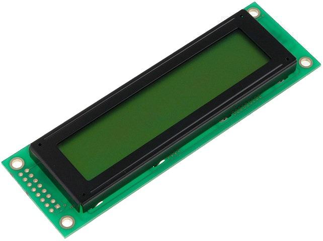 Display LCD Alfanumérico 20x2 LED 16 Pinos - Display Elektronik