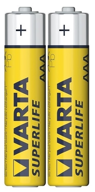 Pack de 2 Pilhas R03 / AAA - VARTA SUPERLIFE