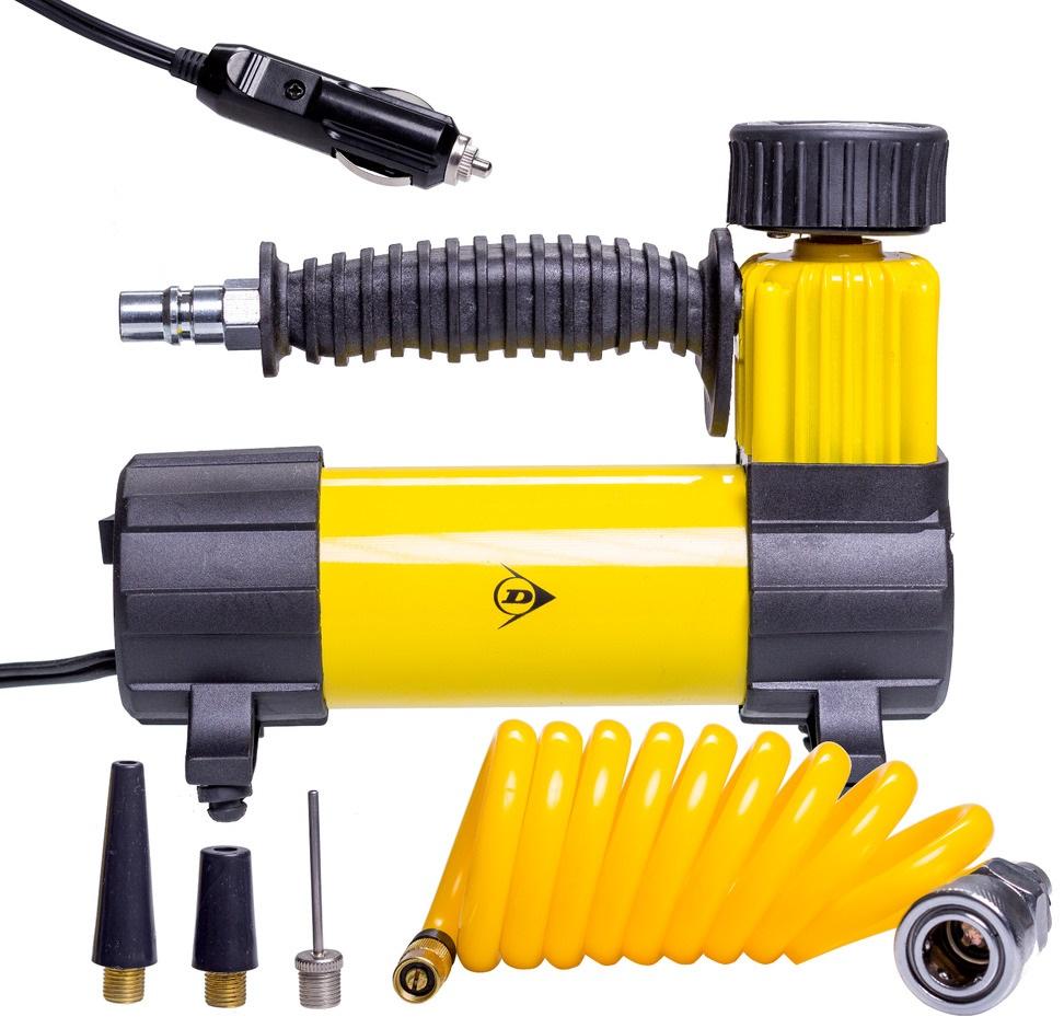 Compressor de Ar 12V 100PSI / 7Bar 96W - DUNLOP